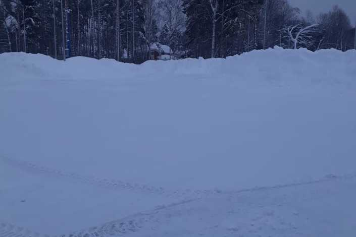 Смета на уборку территории от снега